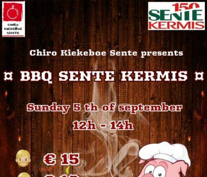 BBQ SENTE KERMIS